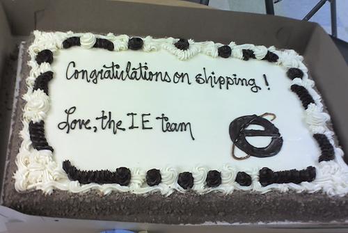 Cake 2 Mozilla from Microsoft